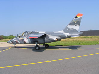 1st Wing (Belgium) - Image: Aircraft Alpha Jet Belge AT 18