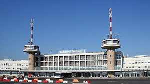 ABC Air Hungary - Terminal 1 of Budapest Ferenc Liszt International Airport, which was the airline's head office