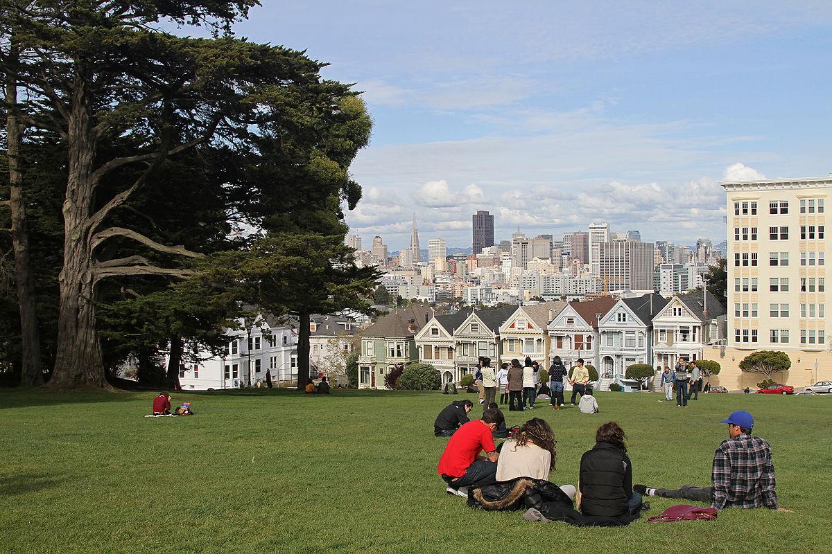 Alamo Square San Francisco Wikipedia - 5 most interesting neighborhoods in san francisco