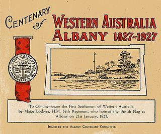 Centenary of Albany, Western Australia