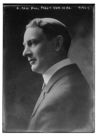 Albert Ross Hill - Image: Albert Ross Hill in 1917