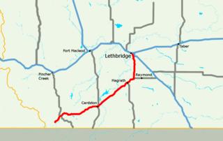 Alberta Highway 5 highway in Alberta