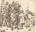 Albrecht Dürer - Five Soldiers and a Turk on Horseback (NGA 1943.3.3455).jpg