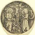 Albrecht Dürer - The Crucifixion called the Sword Pommel of Maximilian (NGA 1943.3.3538).jpg