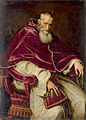 Alessandro Farnese (1468-1549), Pope Paul III (1534-1549) by Scipione Pulzone after Titian.jpg