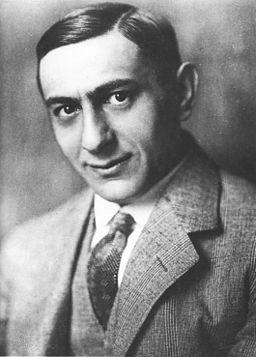 Alexander Binder - Ernst Lubitsch um 1920