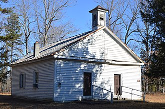 National Register of Historic Places listings in Buckingham County, Virginia - Image: Alexander Hill Baptist Church
