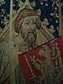 Alexander the Great or Hector of Troy (detail), tapestry, France or South Lowlands, 1400-1410 (5454050710).jpg