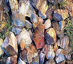 Feuersteinrohlinge in der Prärie