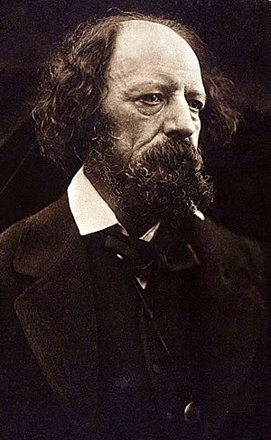 Julia Margaret Cameron - Alfred Lord Tennyson. Carbon print by Cameron, 1869