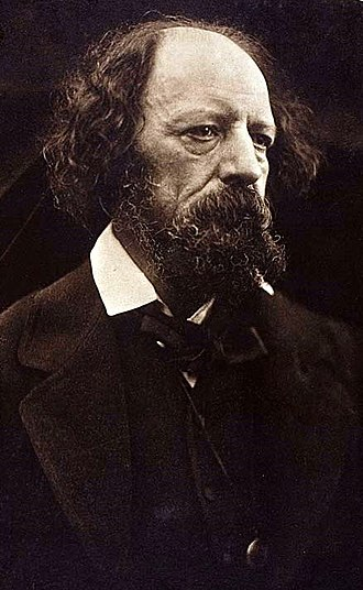 Alfred, Lord Tennyson - 1869 carbon print by Julia Margaret Cameron