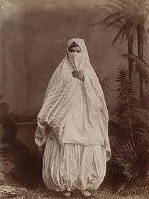 Algerian woman's outdoor costume.jpg