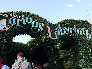 Alice's Curious Labyrinth - Image: Alice's Curious Labyrinth