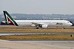 Alitalia, I-BIXP, Airbus A321-112 (31398845688).jpg