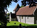 All Saints Church, West Dean, East Sussex - geograph.org.uk - 746270.jpg