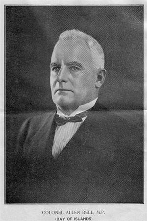 Allen Bell - Allen Bell ca 1922