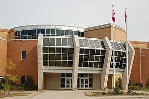 All Saints Catholic Secondary School Entrance.