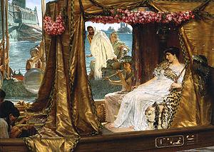 Tryphé - Image: Alma tadema antony cleopatra