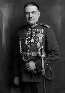 Czechoslovak general and politician