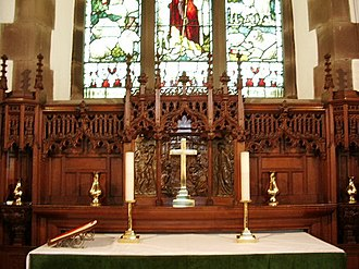 Little Clifton - View of the altar within St Luke's church