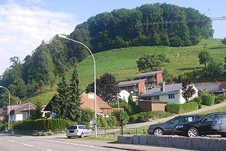 Altbüron Place in Lucerne, Switzerland