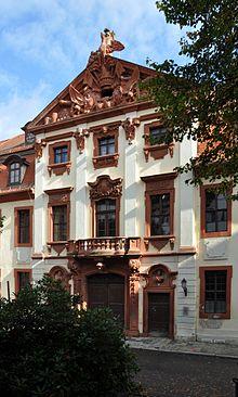 Das Seckendorffsche Palais war das Wohnhaus von Friedrich Arnold Brockhaus während seiner Zeit in Altenburg (Quelle: Wikimedia)
