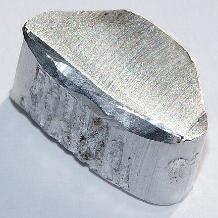 Image of aluminum chunk