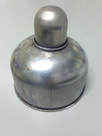 Alcohol burner - Image: Aluminum alcohol burner