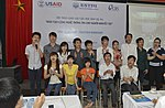 Alumni of IT Training Program for Person with Disabilities gather to share experience (14486032015).jpg