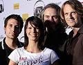 Amadeus Austrian Music Award 2009, Christina Stürmer & Band 02.jpg