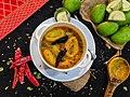 Amba khatta (Instant Raw Mango Pickle) Rayagada Odisha 04.jpg