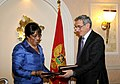 Ambassador Brown and Montenegro Minister Lompar Sign the U.S.-Montenegro Open Skies Agreement.jpg