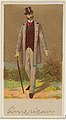 American, from the Natives in Costume series (N16), Teofani Issue, for Allen & Ginter Cigarettes Brands MET DP834862.jpg