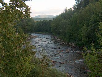 Ammonoosuc River - The Ammonoosuc River near Twin Mountain, New Hampshire