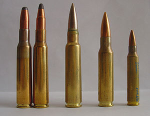 7×57mm Mauser - Image: Ammunition 7x 57