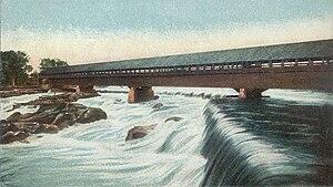 Amoskeag Falls - Amoskeag Falls in 1906