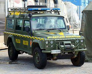 Military Emergencies Unit - Image: Aníbal PM
