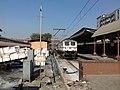 An Ajni (AQ) WAP-7 taking rest at CST Railway station after hauling Sewagram Express from Nagpur.jpg