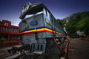 An old train exhibit in Malacca (2431184054).jpg