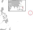 Anas oustaleti distri map.png
