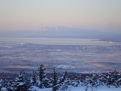 Anchorage Alaska and Sleeping Lady.JPG