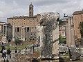 Ancient Roman Forum looking towards Capitoline Hill (6995021587).jpg