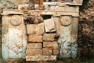 Ptolemaida - Ancient Macedonian grave in Ptolemaida
