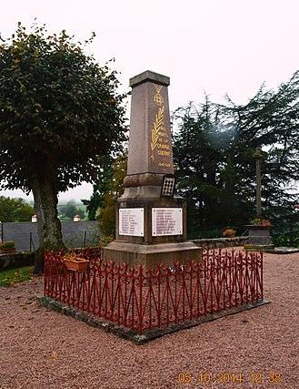 Andelaroche - Andelaroche War Memorial