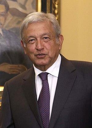 Andrés Manuel López Obrador - Image: Andrés Manuel López Obrador (agosto 2017)