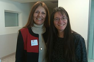 Andrea Smith (academic) - Andrea Smith (right) in 2011