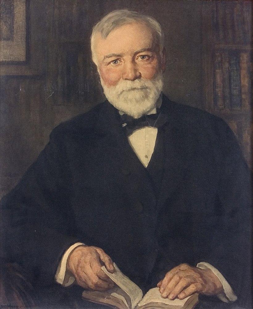 Andrew Carnegie by Francis Luis Mora
