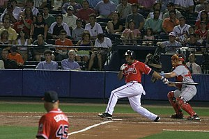 Andruw Jones - Andruw Jones at bat in 2006.