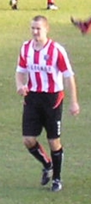 Andy Frampton - Frampton playing for Brentford in January 2006.