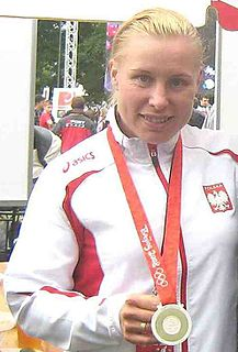 Aneta Konieczna Polish canoeist